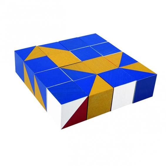 Nikitin kocka s vzormi