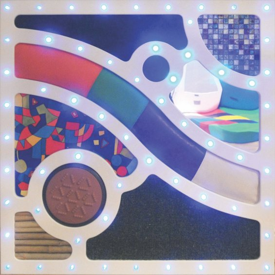 Interaktivny abstraktny dotykovy panel