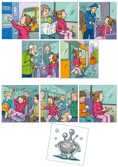 Obrazkove karticky slusne spravanie