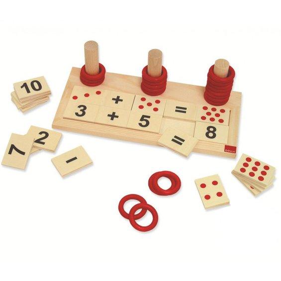 Puzzle scitanie a odcitanie