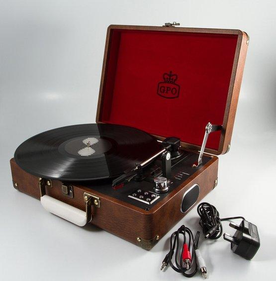 Reminiscencna pomocka gramofon zhnedy