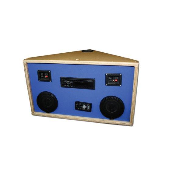 Rohove stereo pre vibroakusticke pomocky