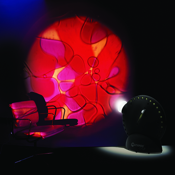 Space projektor - Čierny