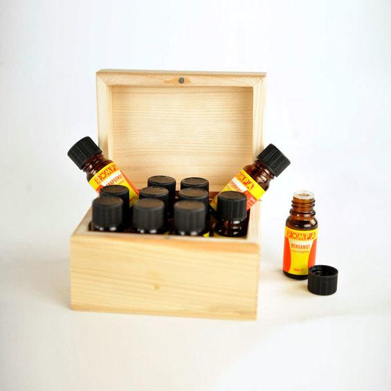 Súprava esenciálnych olejov pre aromaterapiu
