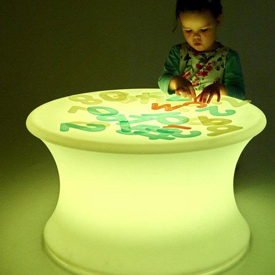 Svetelny stolik
