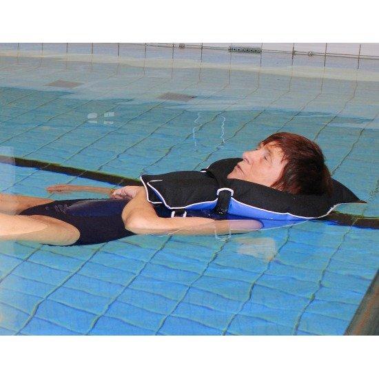 Terapeuticky plavajuci golier 2
