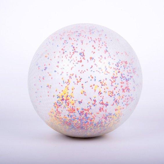 Velka lopta s konfetami