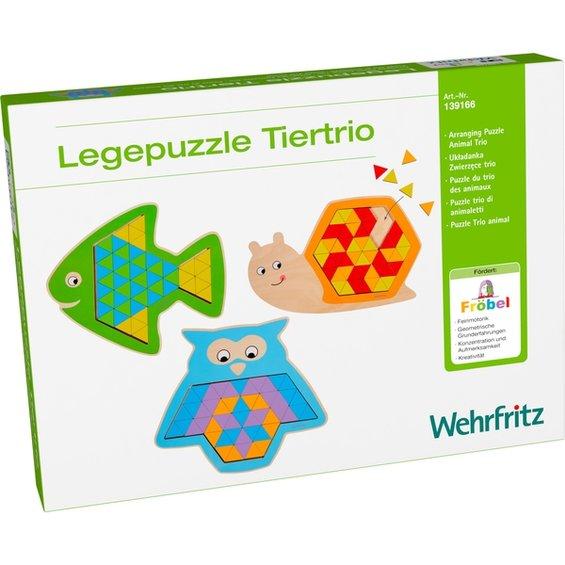 Vkladacie puzzle zvierata 1