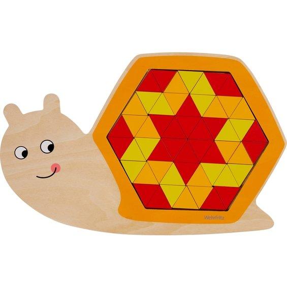Vkladacie puzzle zvierata 2