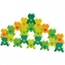 3D puzzle - žabky