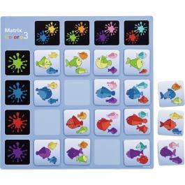 Poznávacia hra - Farebné tabuľky