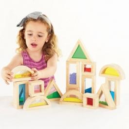 Senzorická stavebnice - sada 16 kusů