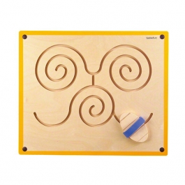 Nástěnný labyrint - spirály