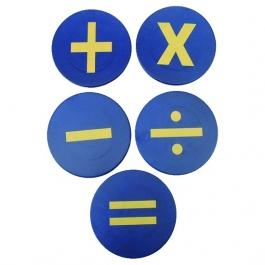 Podlahové značení - Matematické symboly