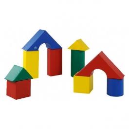 Pěnová stavebnice - Sada 10 kusů