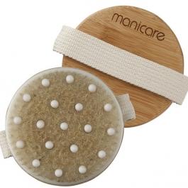 Dřevěný masážní kartáč