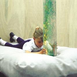 Polohovací vak pod bublinkový valec