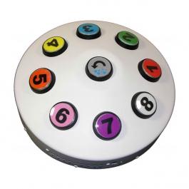 Bezdrôtový interaktívny ovládač pre osem farieb