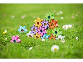 3D puzzle - Čarovné kvetinky