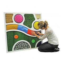 Abstraktný dotykový panel
