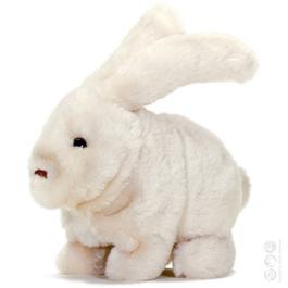 Adaptovaná hračka - Měkký zajíček
