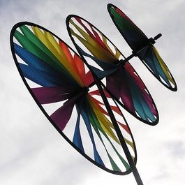 Dekorácia - Farebné koleso