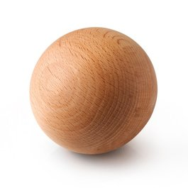 Drevená masážna loptička