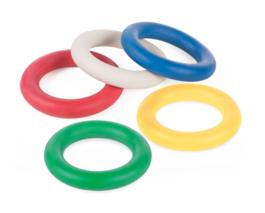 Farebné krúžky - Súprava 5 kusov