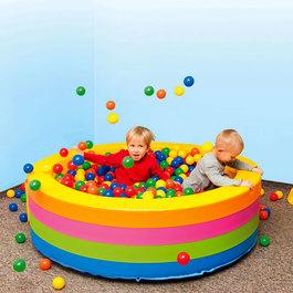 Kuličkový bazén - kruh