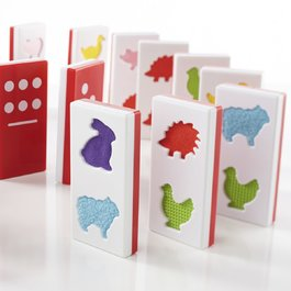 Hmatové domino - Zvířata