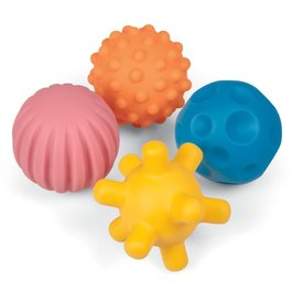 Hmatové míčky s chrastítkem