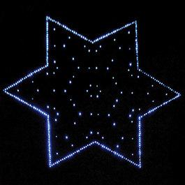 Interaktivní koberec - hvězda