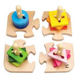 Kreatívne kolíkové puzzle