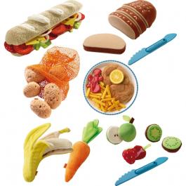 Látkové jedlo - Súprava 64 kusov