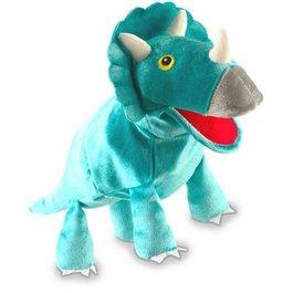 Logopedická maňuška - Triceratops