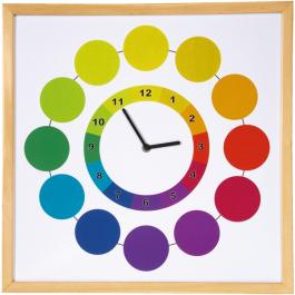 Magnetická tabuľa s hodinami