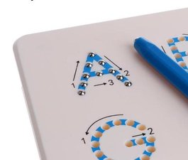 Magnetická tabulka - Abeceda