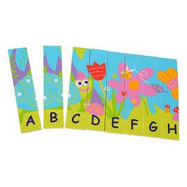 Obojstranné puzzle - abeceda