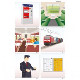 Obrázkové kartičky - Mesto