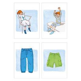 Obrázkové kartičky - Protiklady