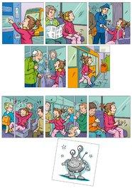 Obrázkové kartičky - Slušné chování