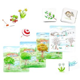 Obrázkové kartičky - Vidiek