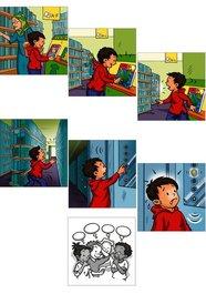 Obrázkové kartičky - Vytvor koniec príbehu
