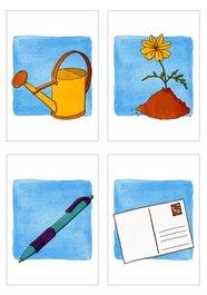 Obrázkové kartičky - Predmety a ich využitie