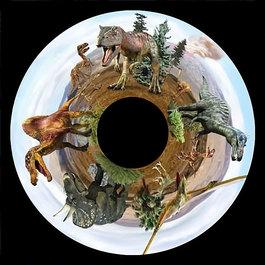 Obrázkový kotouč - Dinosauři