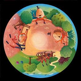 Obrázkový kotouč - Jak šlo vejce na vandr