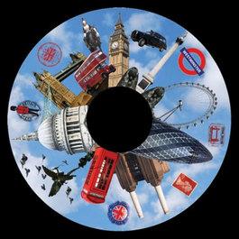 Obrázkový kotouč - Londýn