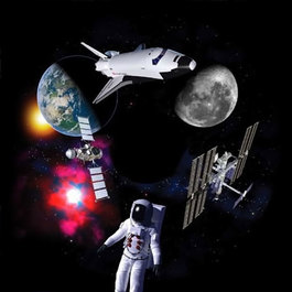 Obrázkový kotouč - Vesmír