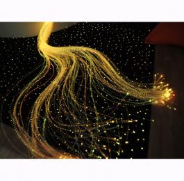 Optické vlákna so svetelným zdrojom