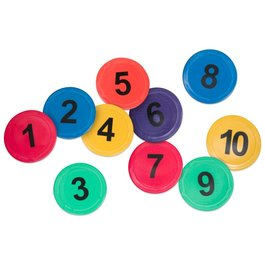 Podlahové značení - Čísla 1-10
